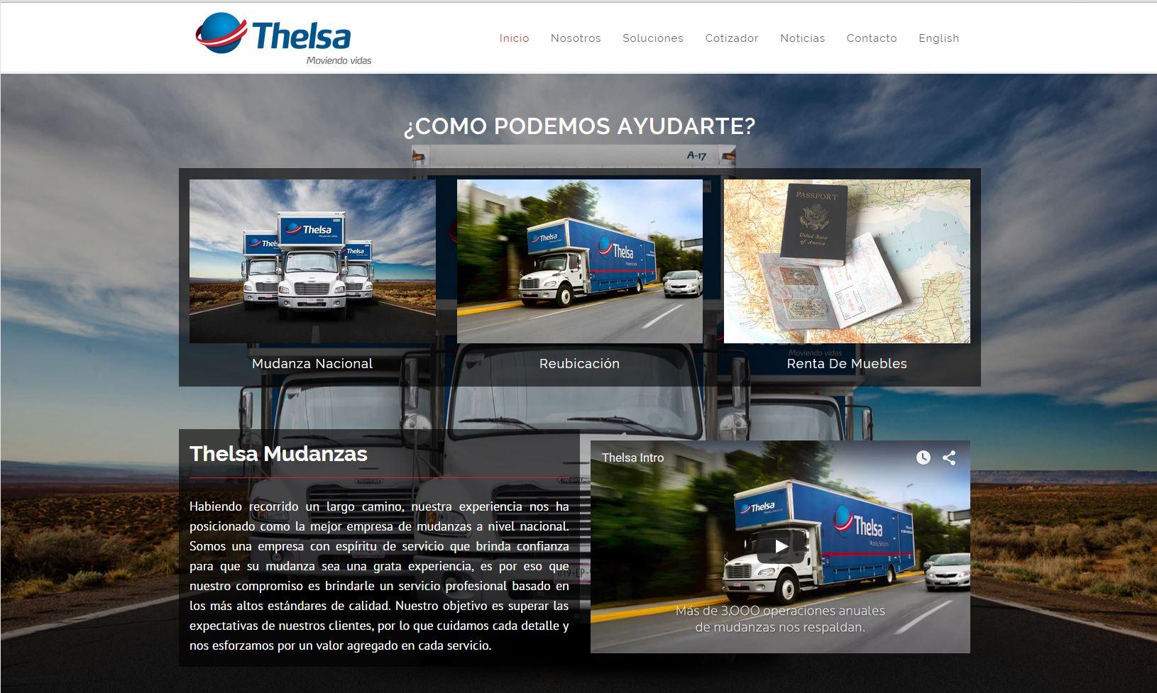 Thelsa Mobility Solutions Mudanza Reubicaci N Y Renta Venta De  # Muebles Pagina Web